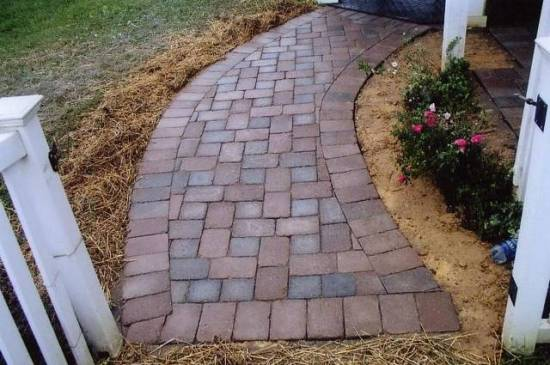 Quality Outdoor Paver Walkway Maryland
